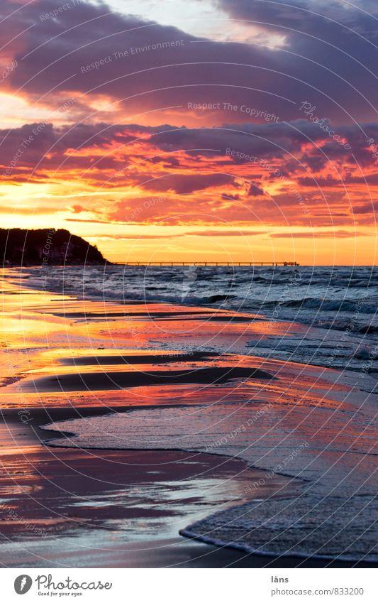 another world Sunset Ocean Baltic Sea Sky Water Horizon