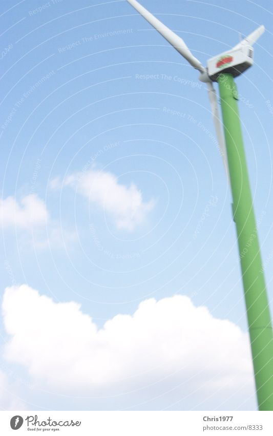 Landscape Wind energy plant
