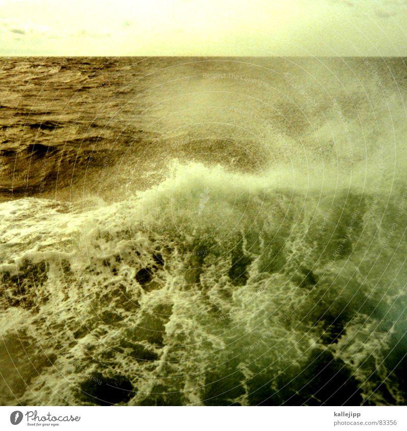 seasick Crest of the wave Lake Waves Ocean Break water Atlantic Ocean Steamer Surface of water Navigation Water level seasickness vomit Baltic Sea North Sea