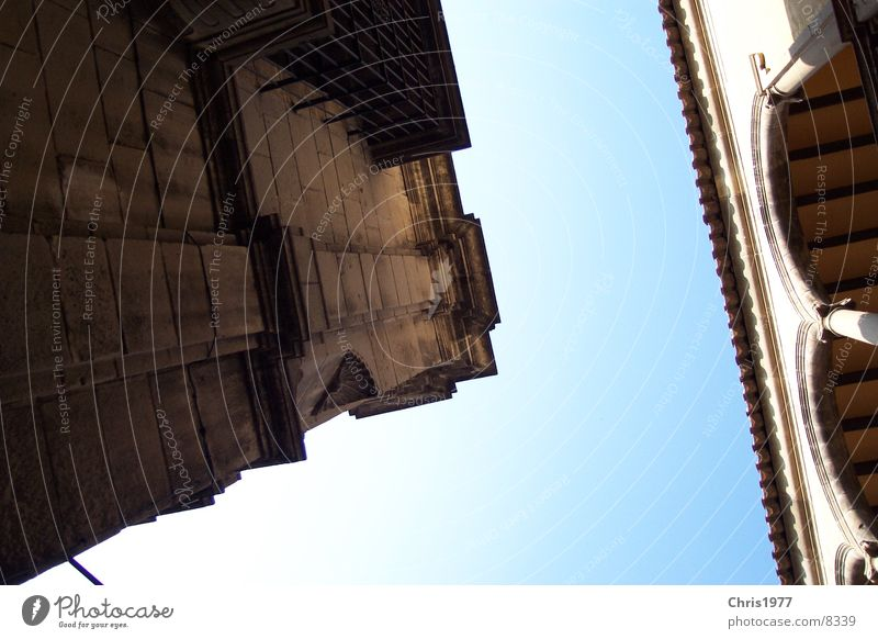 Old House (Residential Structure) Architecture Perspective Corner Mixture Old building Barcelona Massive