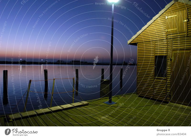 Sky Ocean Calm House (Residential Structure) Sadness Moody Europe Grief Harbour Farm Lantern Hut Footbridge Jetty Dusk Fisherman