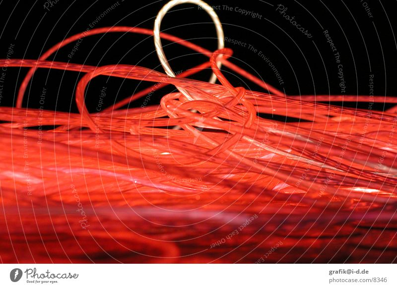Red Dark Movement Circle Round Trade fair Neon light Exhibition Thread Swirl