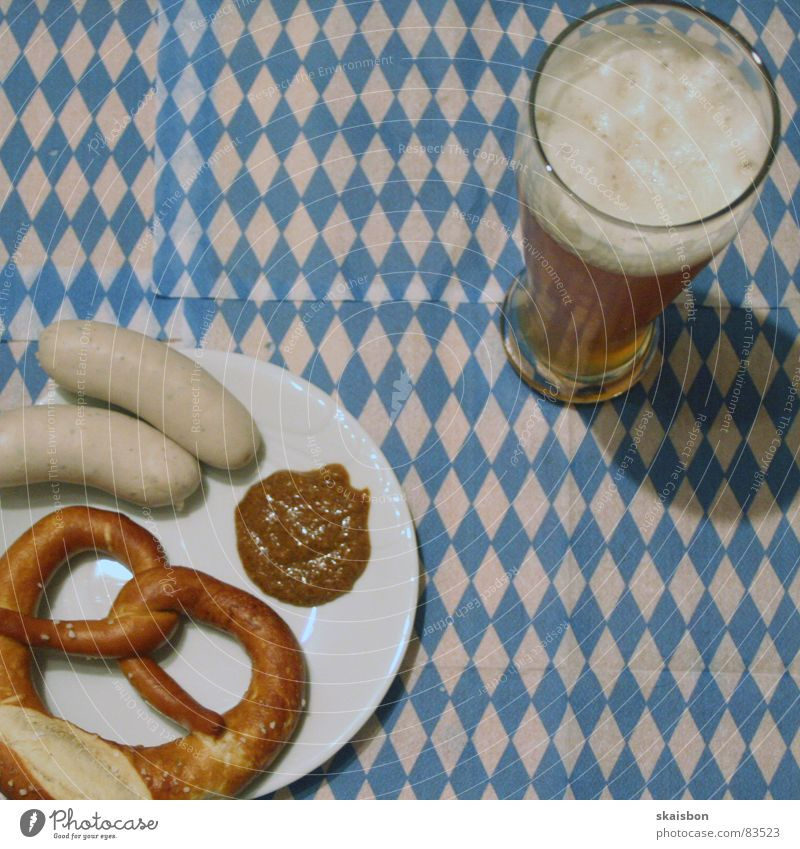 Blue White Cold Warmth Germany Glass Nutrition Food Fresh Sweet Munich Physics Beer Pattern Square Breakfast