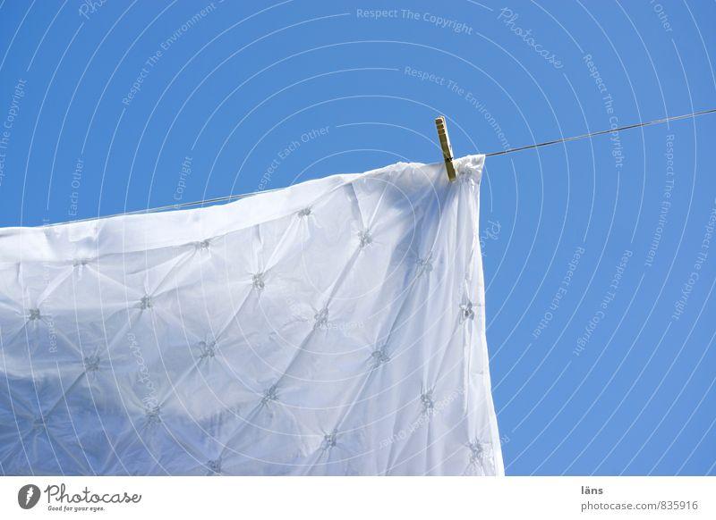 Sky Blue White Sun Bedclothes Hang Dry Clothesline Clothes peg