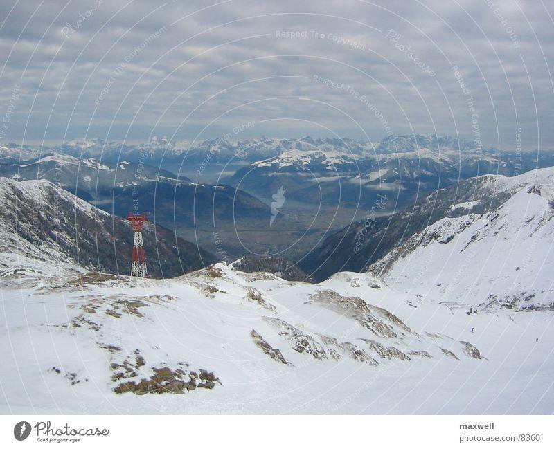 Winter Snow Mountain Alps Austria Glacier