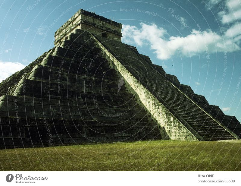 The Steps of God Inca Temple Culture Step Pyramid Advanced Sacrosanct Dignified South America Worm's-eye view Meadow Grass Holy Ruin Ancient Mystic Calm