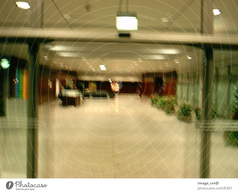 lobby Main hall Motion blur Photographic technology Welcome Warehouse Blur