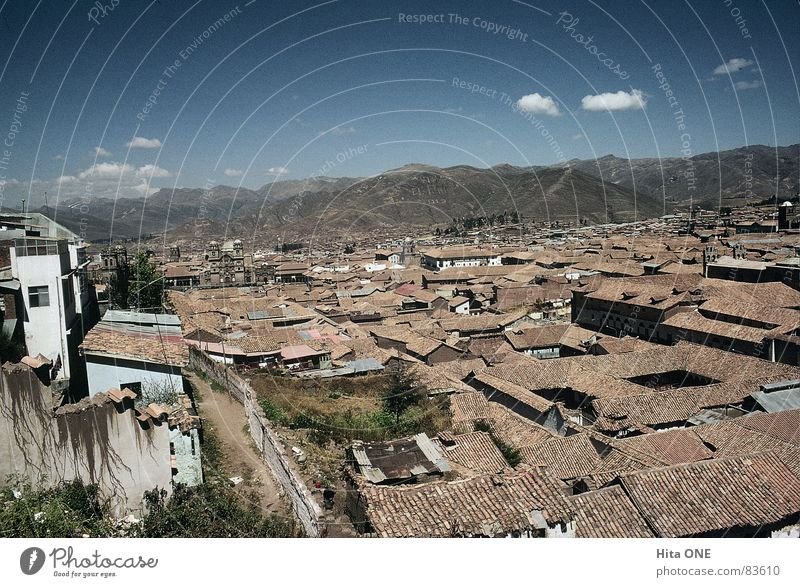 Sky City House (Residential Structure) Dark Mountain Building Horizon Poverty Large Perspective Construction site Roof USA Hill Manmade structures Brick