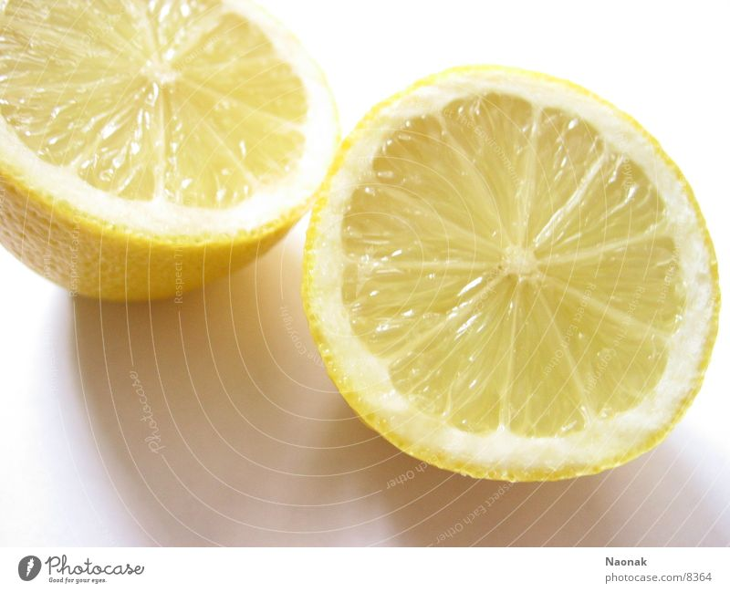 Yellow Healthy In pairs Anger Lemon Juicy Fruit