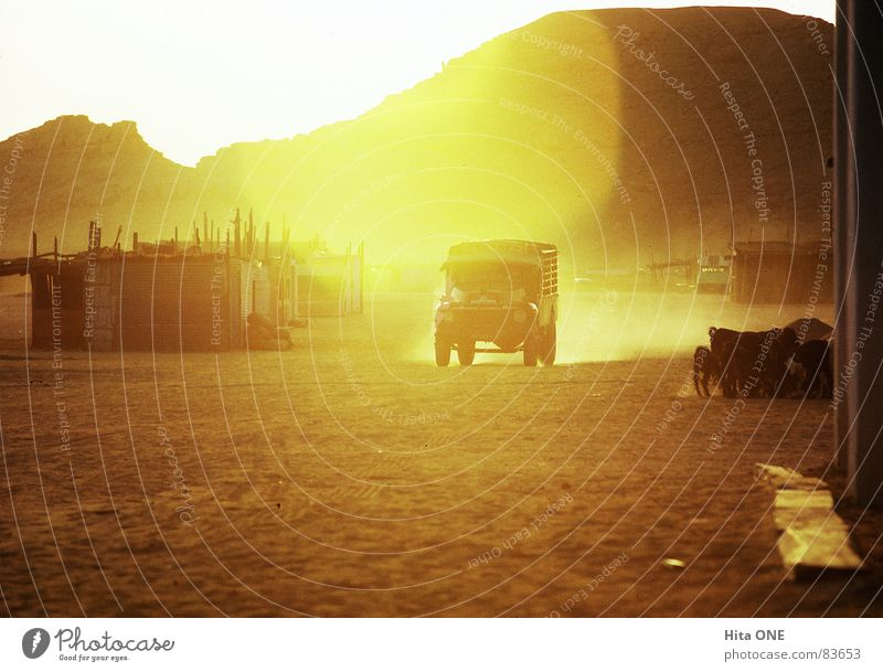 Yellow Street Mountain Warmth Lanes & trails Sand Car Orange Earth Poverty Driving Desert Hill Physics Hot Africa