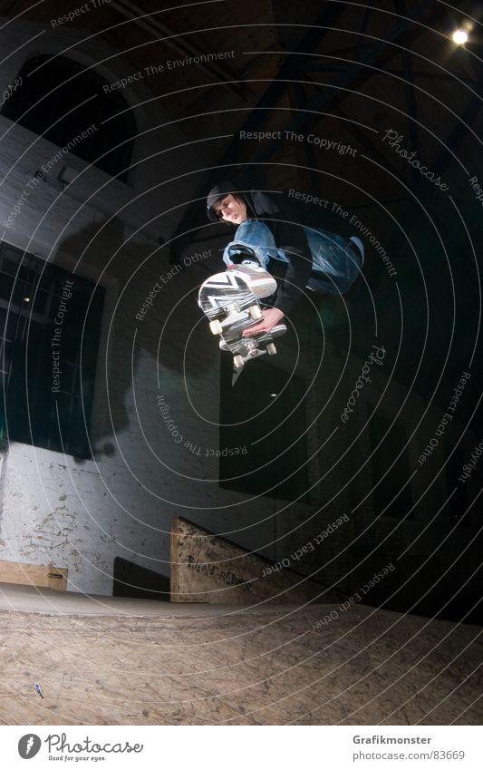 Jump Skateboarding Hip & trendy Extreme sports