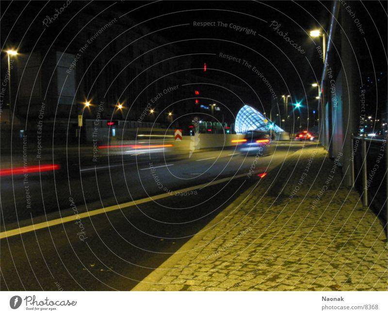 Speedtown Town Long exposure Transport Car Street