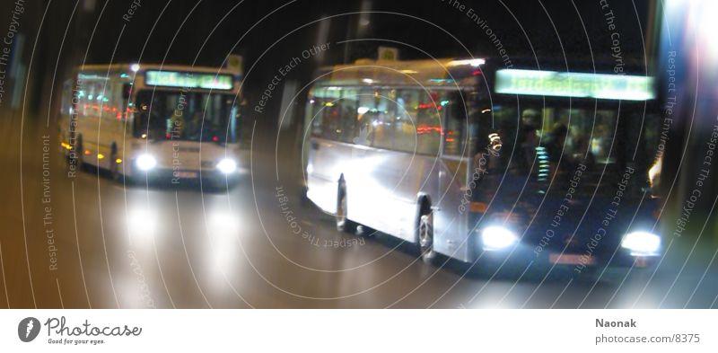Transport Bus Night