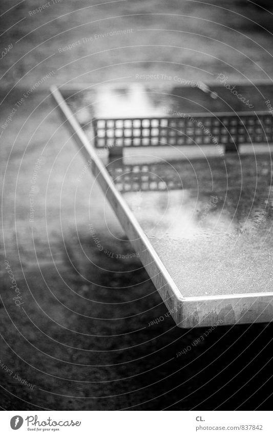 Autumn Sports Rain Wet Break Bad weather Table tennis Table tennis table
