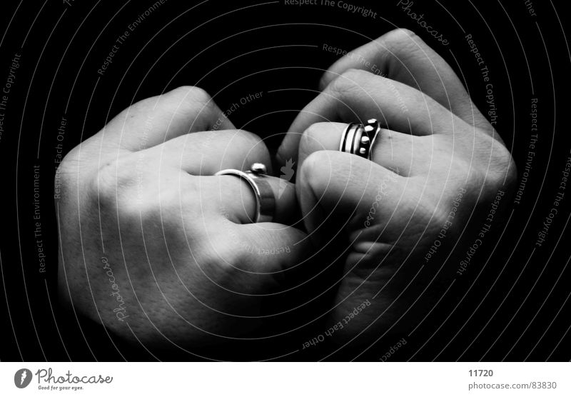 infinity Hand Fingers To hold on Heat Cold Intuition Winter Trust Black & white photo Woman Keep sth. closed  button Circle
