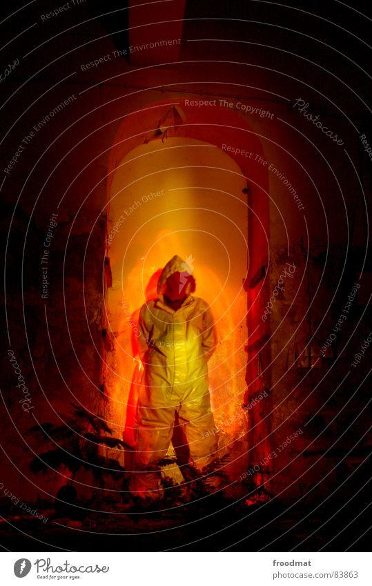 Red Joy Yellow Gray Warmth Orange Art Funny Blaze Crazy Mask Physics Hot Suit Burn Stupid