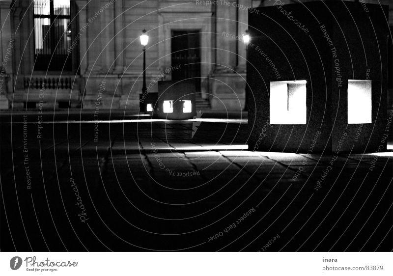 White Black Stone Architecture Paris Seating Louvre