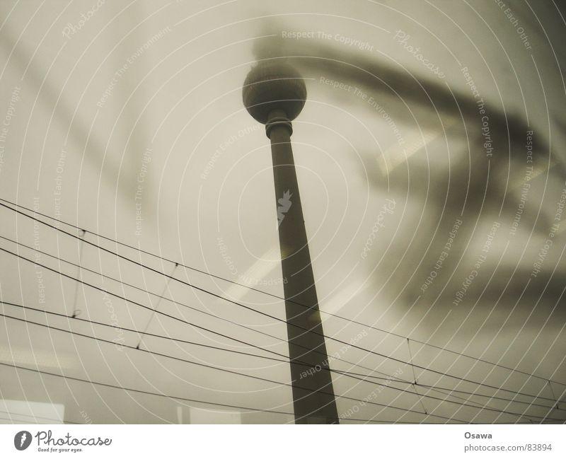 Berlin Window Glass Tower Monument Landmark Window pane Overhead line Z