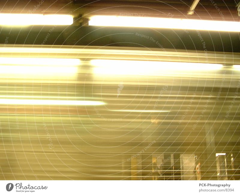 Movement Speed Underground New York City London Underground Photographic technology