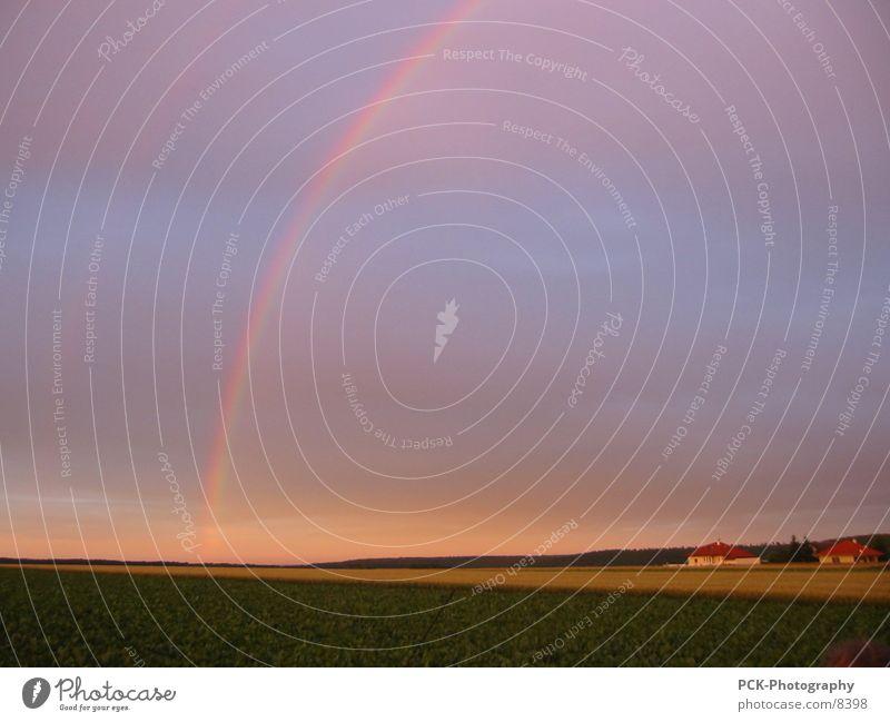 Moody Dusk Rainbow Plain Ambient