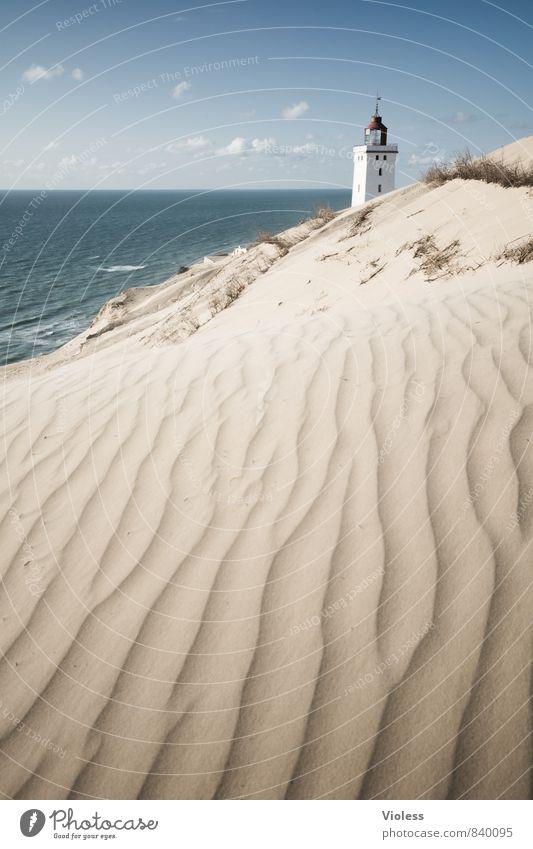 sandman II Vacation & Travel Summer Sun Beach Ocean Waves Coast Bay North Sea Discover Relaxation Beach dune Dune Rubjerg Wanderdüne Rubjerg Knude Lighthouse