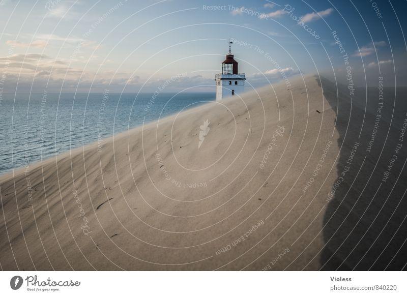 sandman III Vacation & Travel Summer Sun Beach Ocean Waves Coast Bay North Sea Discover Relaxation Beach dune Wanderdüne Rubjerg Knude Lighthouse