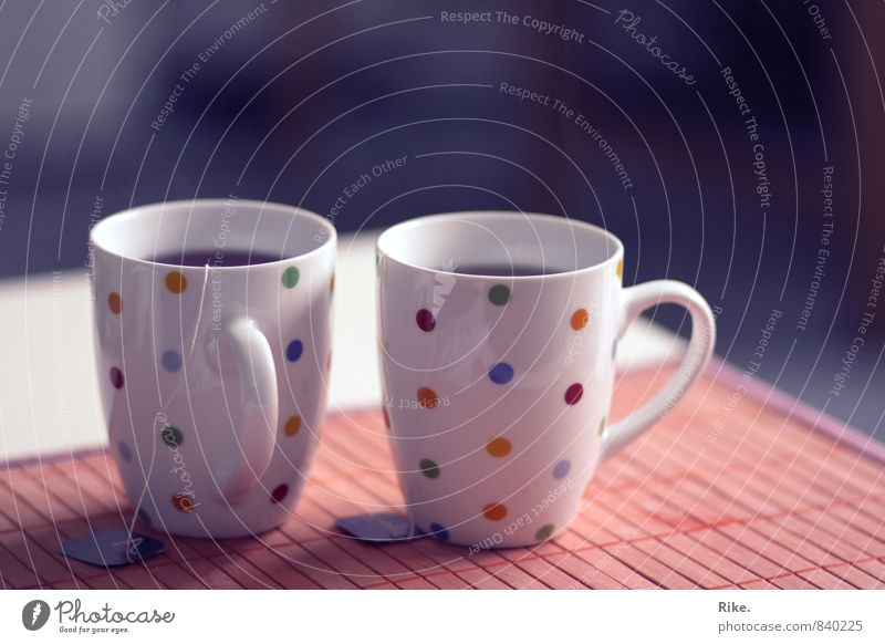 Time out together. To have a coffee Beverage Drinking Hot drink Tea Cup Lifestyle Healthy Healthy Eating Illness Wellness Harmonious Well-being