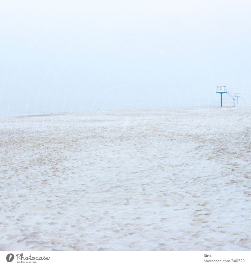 Sky Vacation & Travel Ocean Loneliness Landscape Beach Winter Coast Freedom Sand Horizon Dream Snowfall Ice Fog Tourism