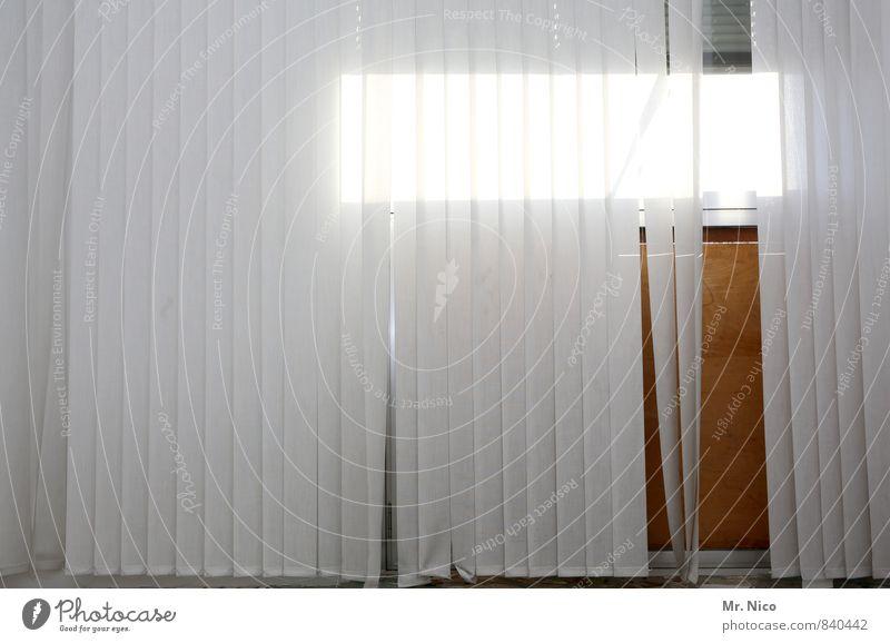 Trash! | Everything's got to go. Window Bright Gloomy Gray White Venetian blinds Roller shutter Drape Stripe Light (Natural Phenomenon) Room Interior design