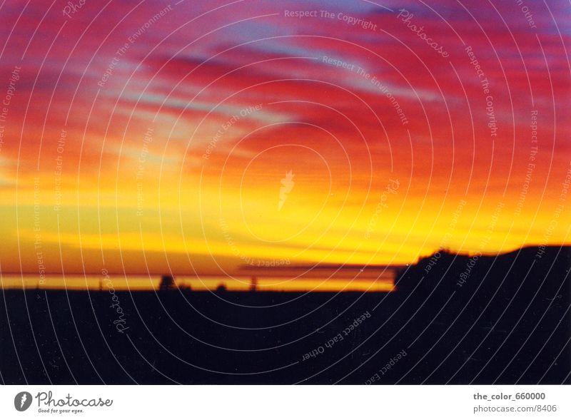 beautiful sunset Sunset Dusk Colour