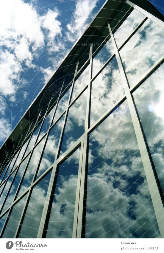 Sky Architecture Glass Museum Glas facade Trier Modern architecture