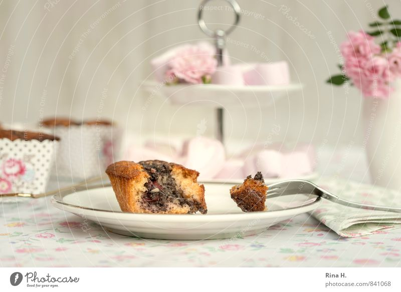 Flower Bright Sweet Rose Candy Delicious Crockery Plate Baked goods Tablecloth Dough Vase Muffin Serviette