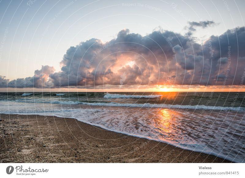 Nature Vacation & Travel Summer Sun Ocean Relaxation Landscape Beach Far-off places Coast Freedom Waves Fantastic Elements Adventure Romance