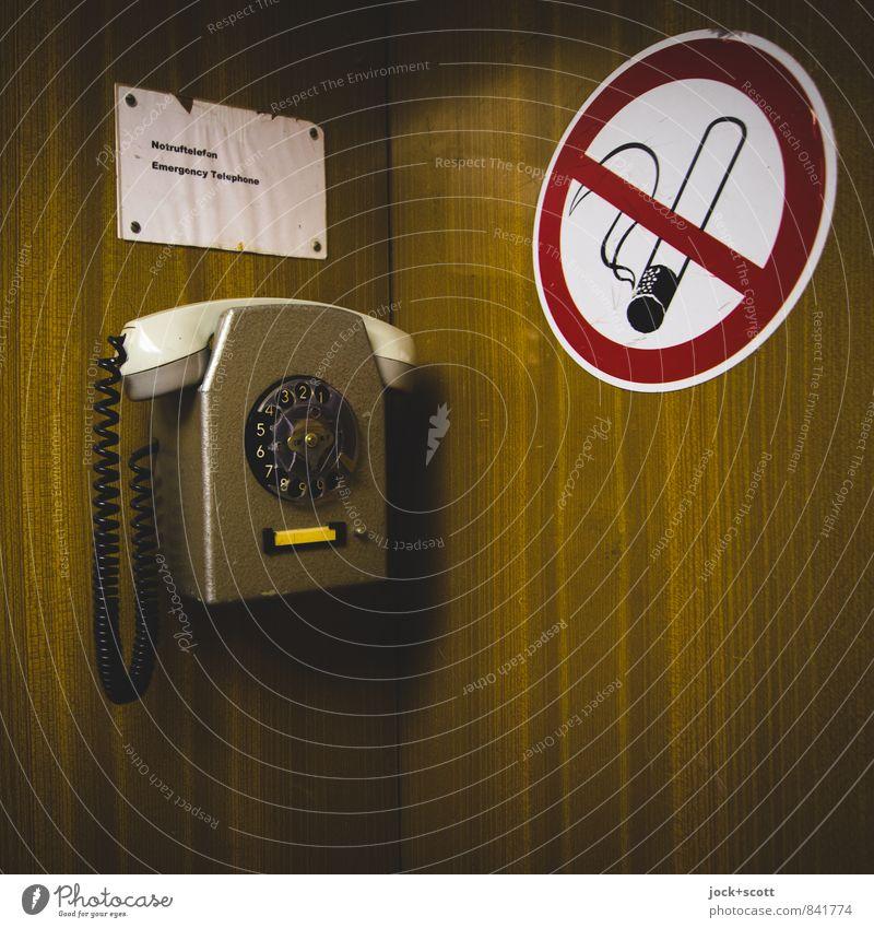 Style Design Circle Corner Signage Clean Retro Planning Illustration Help Safety Good Hang Word Testing & Control Bans
