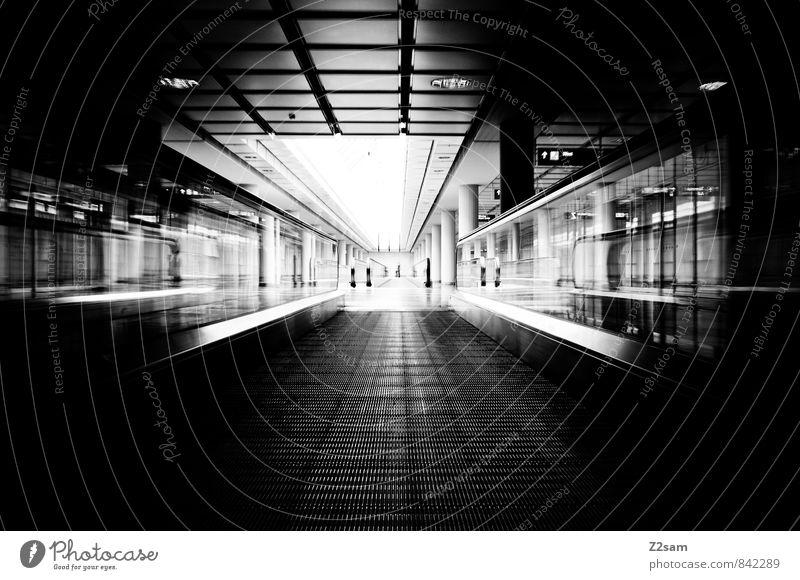 City Loneliness Dark Cold Architecture Lanes & trails Building Business Arrangement Design Modern Perspective Esthetic Future Logistics Manmade structures
