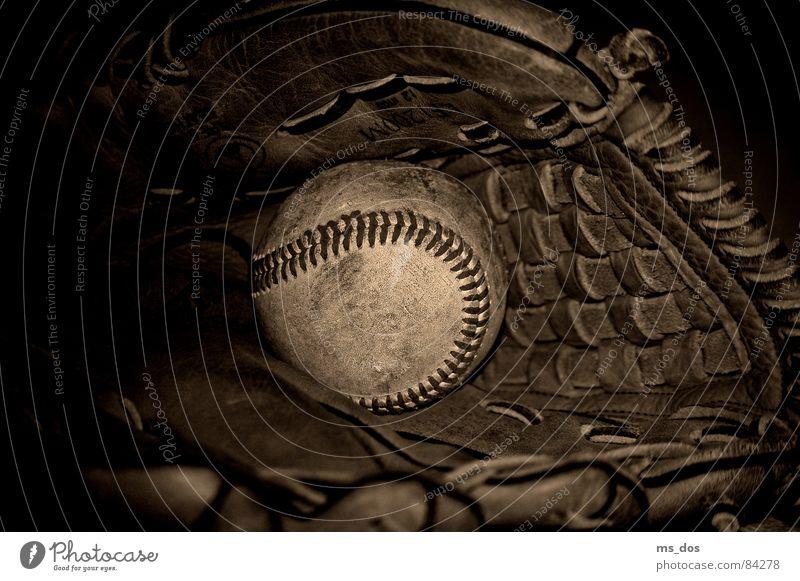 Sports Brown Americas Gloves Sepia Baseball Ball sports Baseball glove