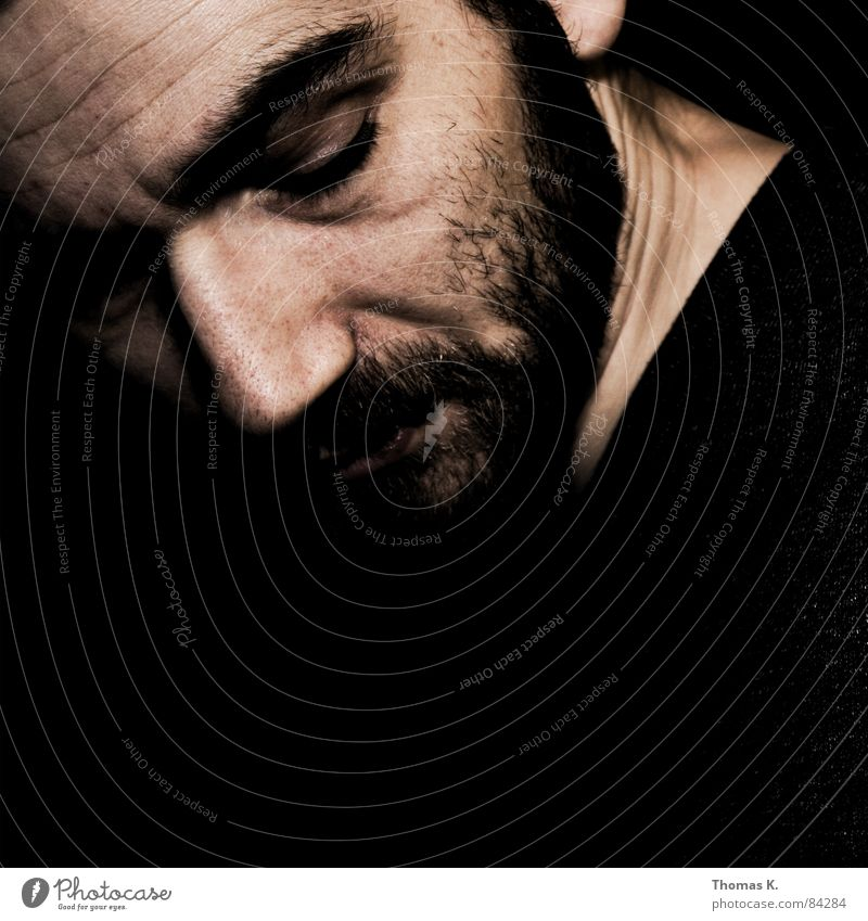 . Alpha Omega Portrait photograph Black White Emotions Man element of Looking