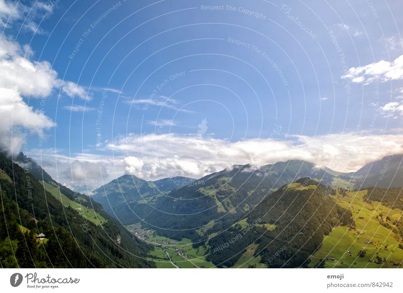 Sky Nature Blue Landscape Environment Mountain Natural Beautiful weather Alps Switzerland
