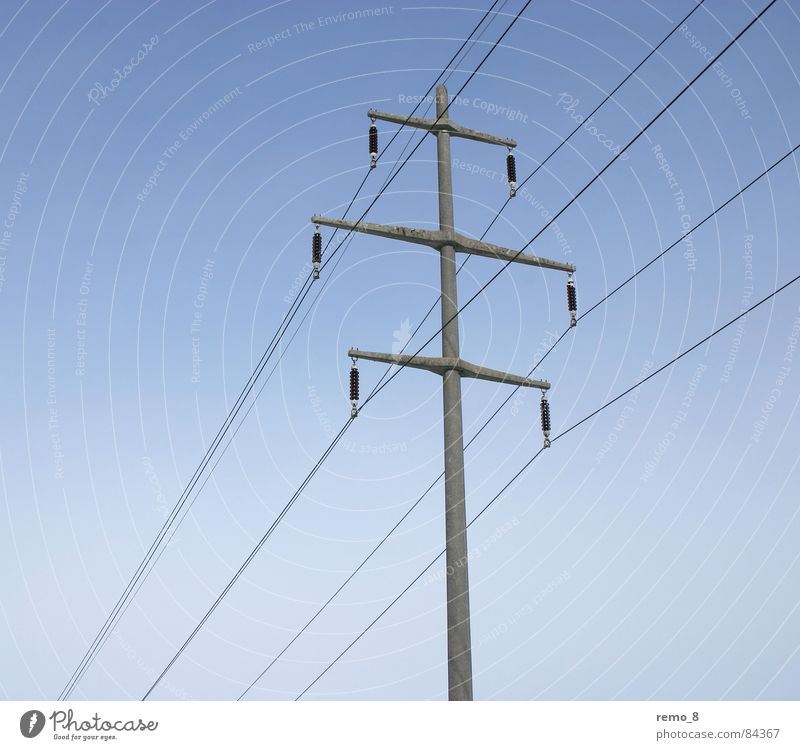 Power pole single Electricity Progress Power consumption Energy industry High voltage power line Impaired consciousness Electrical equipment Technology