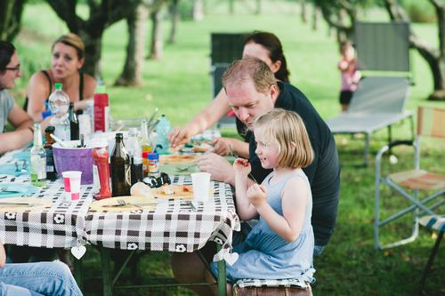 Barbecue season is open! Food Meat Bread Nutrition Eating Buffet Brunch Picnic Barbecue (event) Hamburger Lettuce Lifestyle Garden Human being Child Toddler