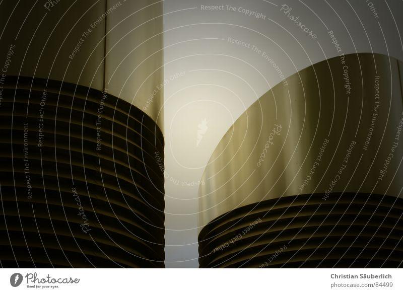 Architecture Gold Design Future Underground Phenomenon Shaft Utopian Air conditioning Outlet air Cybernetics