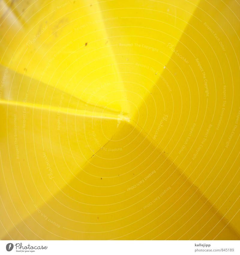 Yellow Line Art Design Point Sharp-edged Geometry
