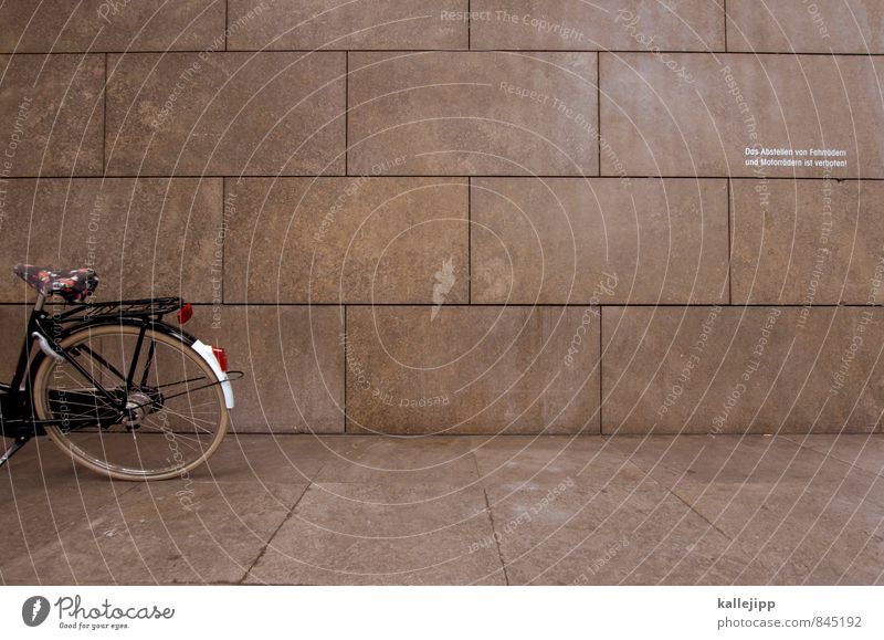 Wall (building) Wall (barrier) Stone Facade Transport Bicycle Clean Cycling tour Laws and Regulations Bans Tolerant Stone slab Parking area Ignore
