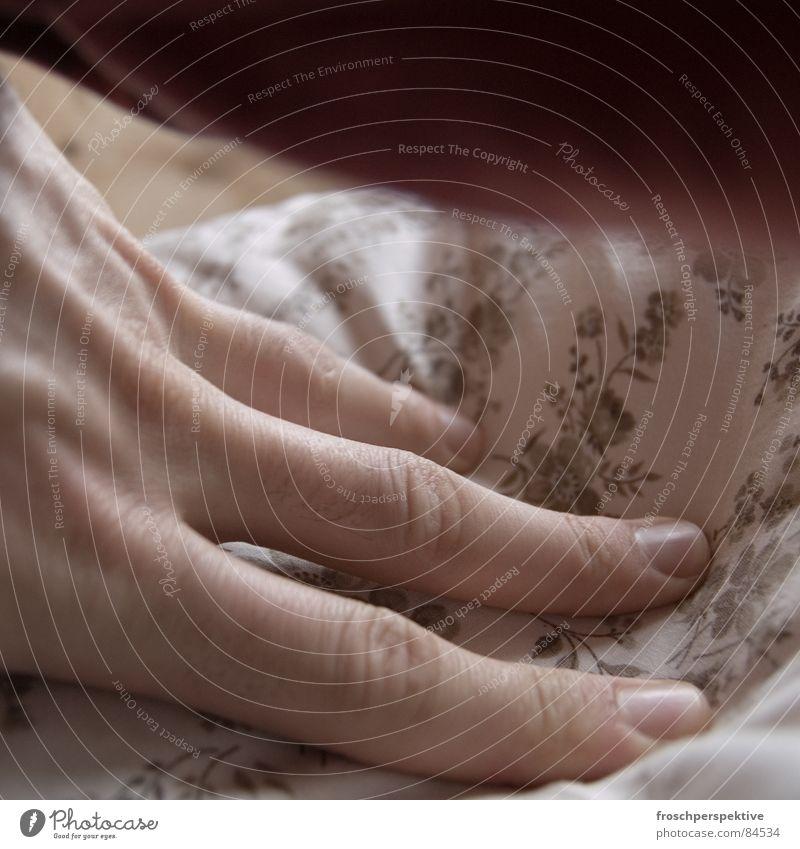 Hand Flower Calm Wood Dream Fingers Rope Sleep Bed Friendliness Peace Serene Smooth Storage Cushion Bedroom
