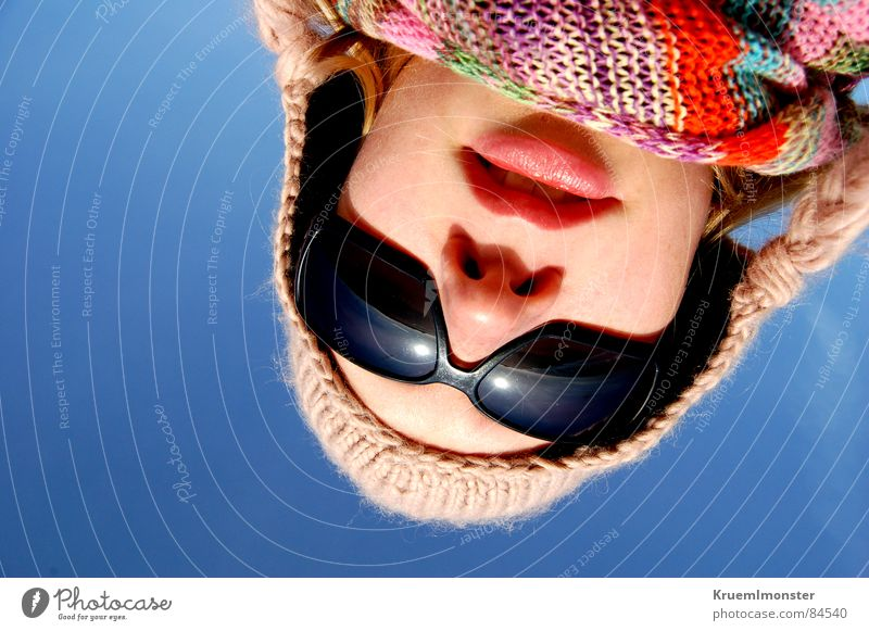 Sky Ocean Winter Face Cold Mouth Nose Island Lips Mirror Under Cap Freeze Opinion Facial expression Beautiful weather