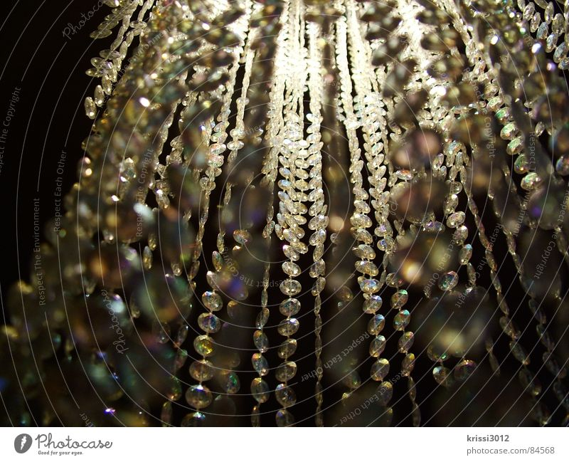 funky glitter Ceiling light Lamp Glittering Precious stone Hang Luxury Noble Dangle Droop Sublime Aristocracy Bright Light Assets Splendid Possessions Club