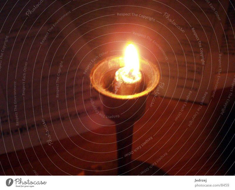 Dark Blaze Candle Wax Photographic technology