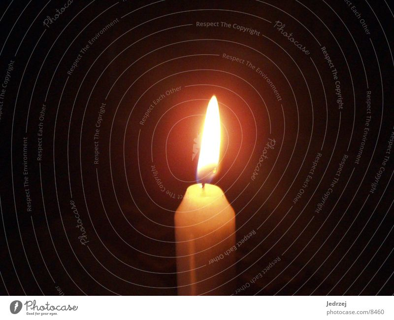 Blaze Candle Wax Photographic technology