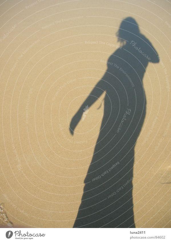 shade Netherlands Self portrait Ocean Coast Surf Woman Silhouette Feminine Beach me Texel Shadow Sun Throw