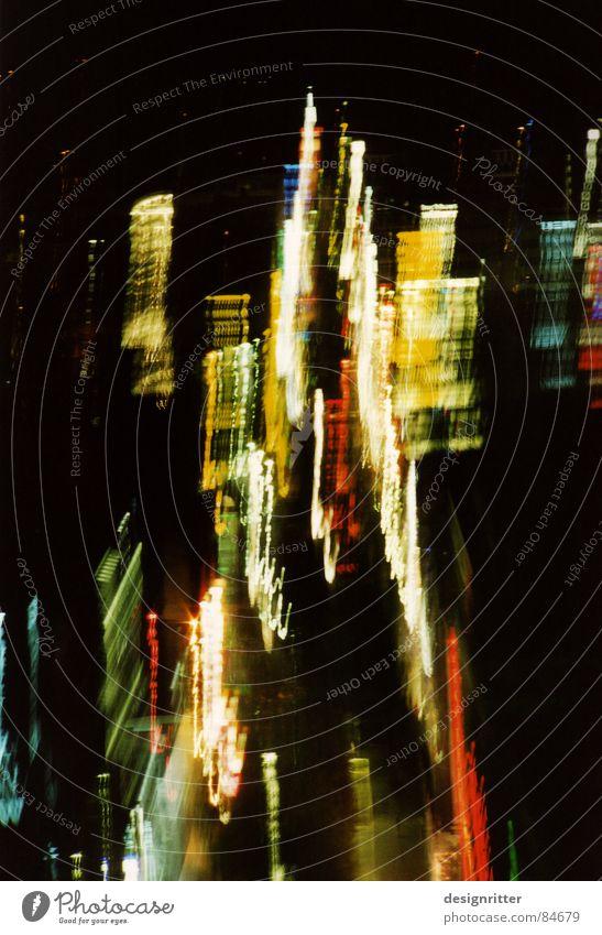 City Lamp Dark Lighting Traffic infrastructure Downtown